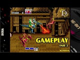 Golden Axe MEGA DRIVE Gameplay Fase 2