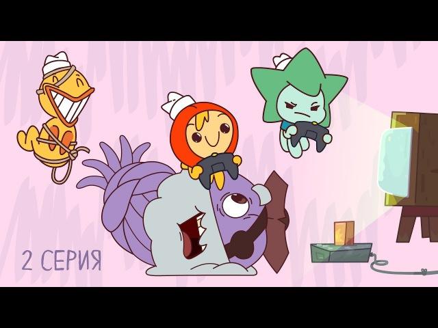Новые мультики! - Капитан Кракен и его команда - Морские узлы - Весёлые мультфильмы для детей