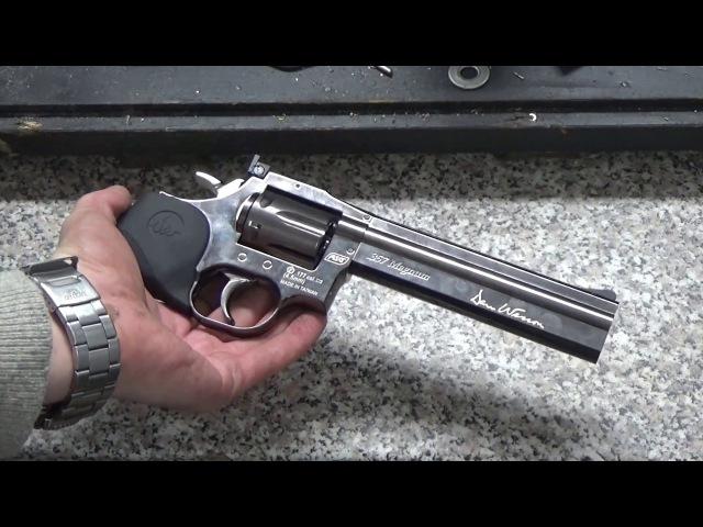 Револьвер ASG Dan Wesson 715. Прикол от WinGun, который не стоит покупать.