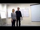 Демонстрация техники Интеграция логических уровней на курсе НЛП-Практик