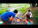 Пикник на машинах Мальчики против Девочек Едем на рыбалку# Поймали золотую рыбку#
