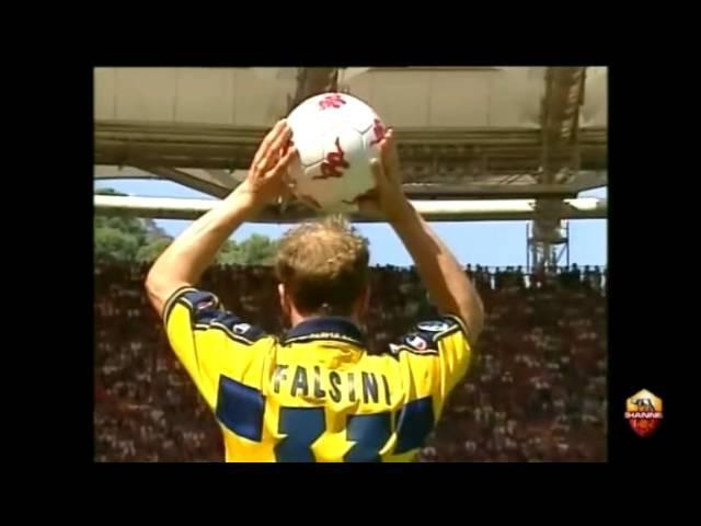 Serie A 2000 - 2001. AS Roma vs Parma 3-1