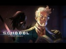 Schoool Legend Heroes android game first look gameplay español