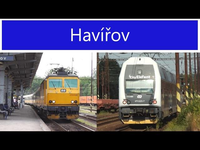 Vlaky - Havířov - 1.8.2013 28.6.2014