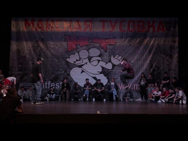 Smi2 vs Garon | locking pro | 1:8 | MAYSKAYA TUSOVKA | SPB | 07 05 17