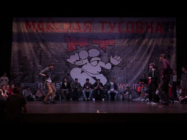 Mikhail vs Garon vs Yuliya | locking pro | 1:4 | MAYSKAYA TUSOVKA | SPB | 07 05 17