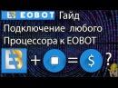 EOBOT CPU Подключение любого процессора к облаку Как подключить CPU к EOBOT