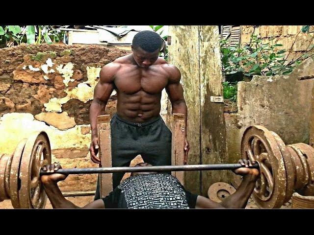 No steroids. No Gym. Only African Genetics!! (Sportfaza)