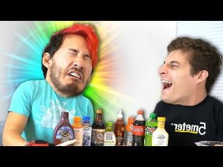 TARTAR SAUCE POPSICLE!! | Dry Ice Popsicle Challenge (1/2)