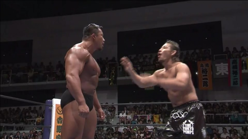 Bad Luck Fale, Yujiro Takahashi, Chase Owens vs. Kota Ibushi, Tomoyuki Oka, Katsuya Kitamura (NJPW - G1 CLIMAX 27 - Day 8)