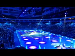 Новогоднее ледовое шоу Ильи Авербуха #авербух #ледовоешоу #юлианакараулова