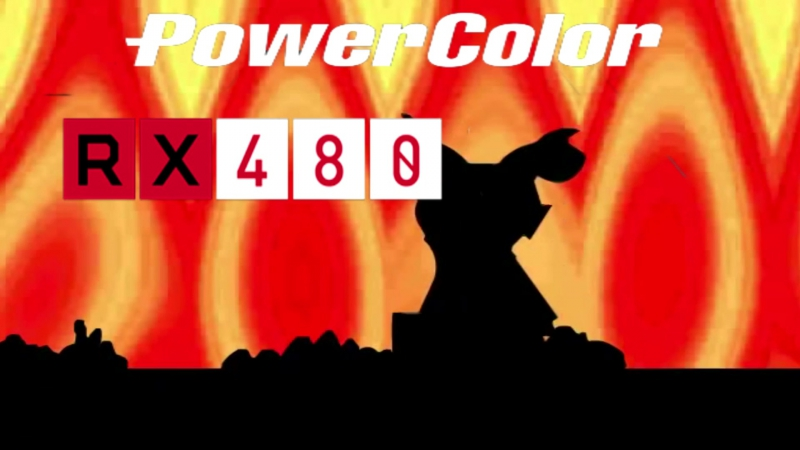 PowerColor RX 480 Red Devil