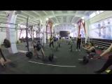 Новосибирск. Тренировка в зале Reebok Crossfit Berloga