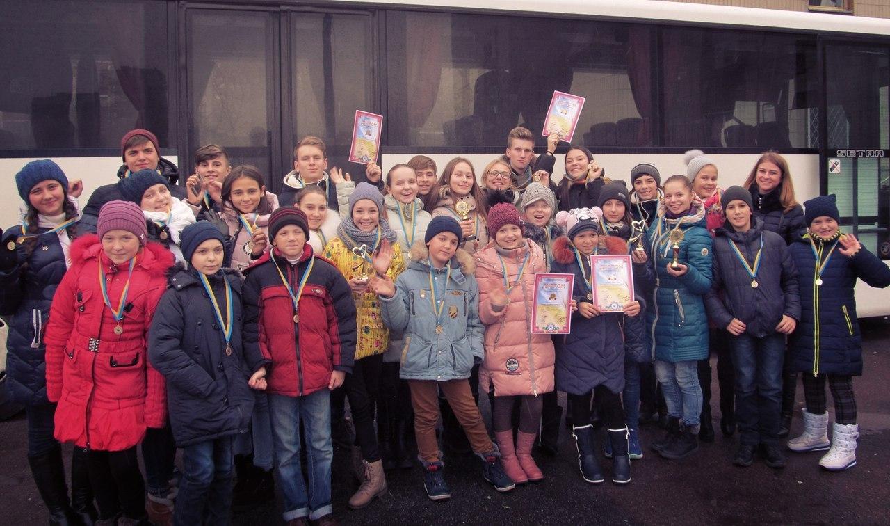 Голопристанські юні таланти тріумфально повернулися з Києва
