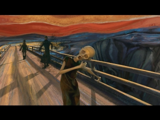 HD The Scream (2012) Sebastian Cosor. Анимация картины Мунка Крик под Pink Floyd