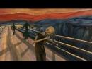 HD The Scream (2012) Sebastian Cosor. Анимация картины Мунка «Крик» под Pink Floyd