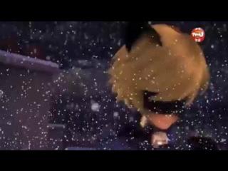Леди Баг и Супер Кот - Худшее рождество - Кот Нуар поёт (Франция)