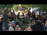 Day 4. Eurotrip to Nova Rock music festival. 2-nd Day of Nova Rock. Our Camping
