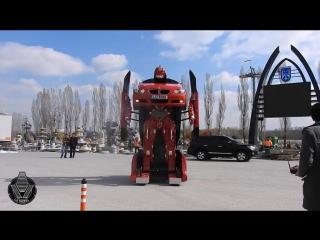 BMW трансформер! Полностью рабочий прототип который назвали Letrons