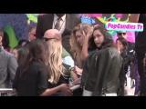 Белла и Джиджи прибывают на премию «Kids' Choice Awards», Лос-Анджелес (29.03.14)
