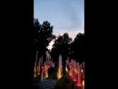 Поющий фонтан в парке Горького. г. Казань. лето, 2017.
