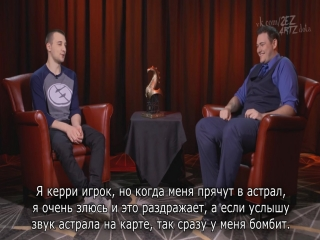 The Boston Major Interview - Arteezy - EG (RUS SUB)