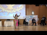 Anastasia Osipchuk, festival Noujoum Al Raqs 2017, Moscow, improvisation baladi+drum solo