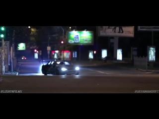 Дрифт по городу на Nissan Skyline и Nissan Silvia