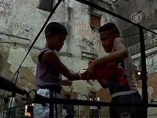 Как тренируются кубинские боксёры !