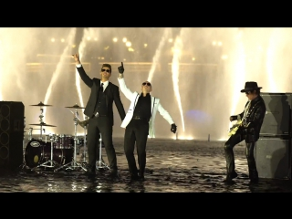 Премьера. Pitbull feat. Robin Thicke, Joe Perry & Travis Barker - Bad Man ft