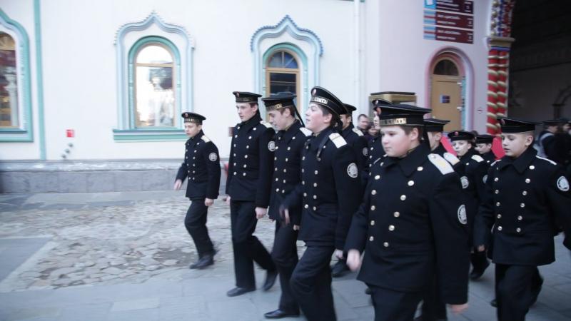 ОРЛЫ наши кадеты моряки! В Измайловском кремле!