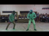 chippeur et animation en action ( final GB kizomba 2013) dancing COUPE DECALE AZONTO