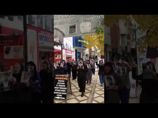 Митинг матерей похищенных. Хасавюрт 14.10.2016г.