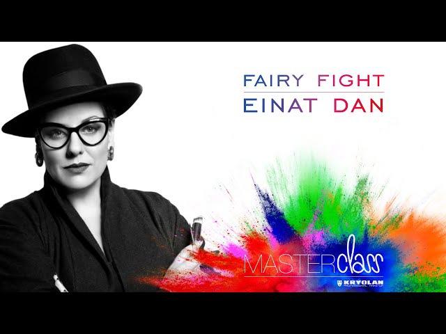 Kryolan Masterclass 2016 Einat Dan Fairy Fight Make up
