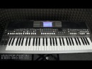Синтезатор YAMAHA PSR-S670 обзор и демонстрация звуков, ритмов, Dj-функции