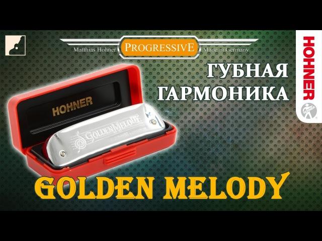 Обзор губной гармоники Hohner Golden Melody