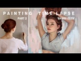 OIL PAINTING TIME LAPSE Part 2 Bambi Eyes