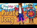 Pirate Oopsy and Captain Daisy | Fun Pirates Song for Children | Sailing Pirate Ship