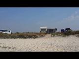пляж и набережная Железный Порт 2016 кемпинг