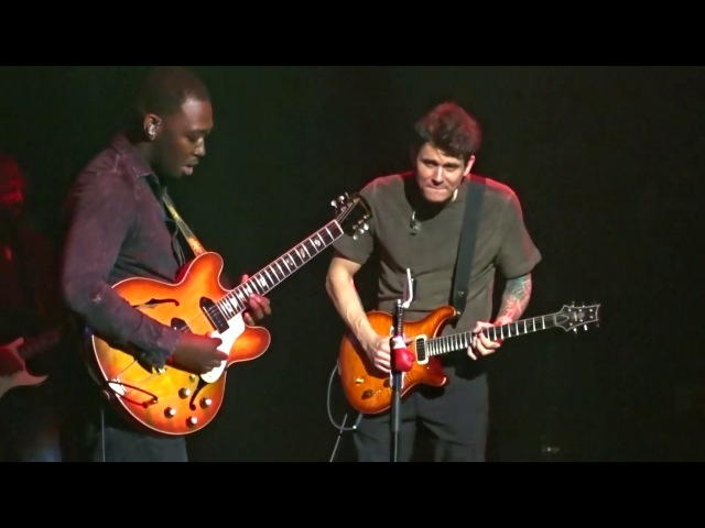 Isaiah Sharkey solo Stitched Up John Mayer 3312017