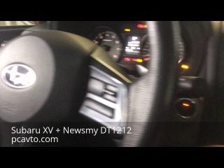 Subaru XV + магнитола на Android Newsmy DT1212 (pcavto.com)