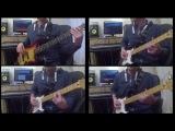 Carl Carlton - Shes A Bad Mama Jama (Bass &amp Guitar Cover)