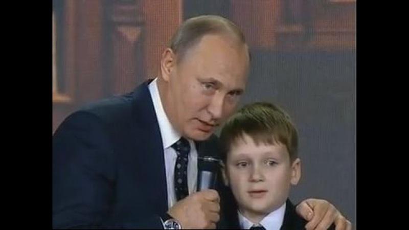 """В.В.Путин: """"Граница России нигде не заканчивается!"""""""