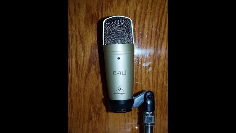 Конденсаторный микрофон Behringer C-1U отзыв
