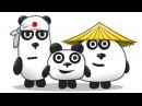 ТРИ ПАНДЫ / Приключение на острове в Японии в мультяшной игре для детей ПУРУМЧАТА