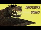 Dinosaurs song for kids  T-rex, Stegosaurus, Apatosaurus, Triceratops