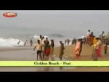 Golden Beach in Puri  East India Tourism in Hindi  Tourist Places to Visit