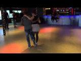 L'ange noir &amp Julie Kizomba Easy Boy - Workshop Netherlands 22nd Feb .