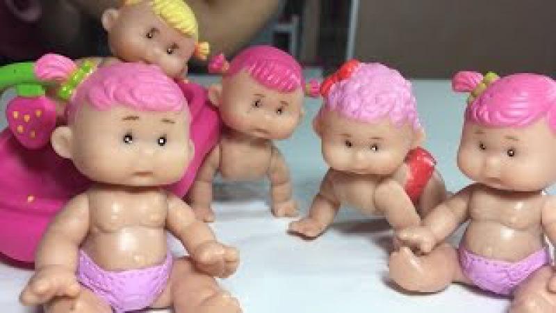 Куклы Пупсики Йогуртини Мультики Распаковка Для девочек Doll unboxing Video for girls Yogurtini