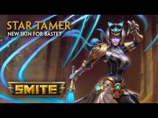 SMITE - New Skin for Bastet - Star Tamer